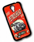 KOOLART PETROLHEAD SPEED SHOP Design For Land Rover Defender Twisted Hard Case Cover Samsung Galaxy S4